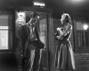 """Psycho""Anthony Perkins & Janet Leigh1960 ParamountPhoto by William Creamer**I.V. - Image 5408_0078"