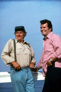 """Rockford Files""Noah Beery Jr., James Garner1975 NBC © 1975 Gene TrindlMPTV - Image 5411_0018"