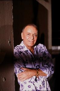 """Magnum P.I."" (Episode ""Laura"")Frank Sinatra1986 CBS © 1986 Gene Trindl - Image 5412_0013"