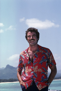 """Magnum, P.I.""Tom Selleck1981© 1981 Gene Trindl - Image 5412_0055"