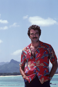 """Magnum, P.I.""Tom Selleck1981© 1981 Gene Trindl - Image 5412_0114"