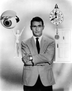 """Twilight Zone"" Rod Serling1965 CBS - Image 5413_0007"