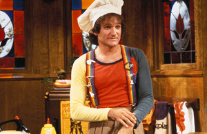 """Mork & Mindy""Robin Williams © 1978 David Sutton - Image 5414_0020"