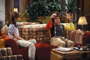 """Mork and Mindy""Pam Dawber, Robin Williams1978**H.L. - Image 5414_0139"