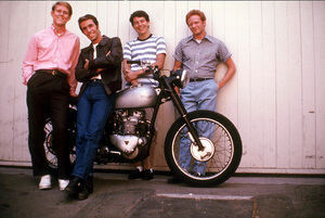 """""""Happy Days"""" Ron Howard, Henry Winkler, Anson Williams, Don Most 1976 © 1978 David Sutton - Image 5417_0015"""