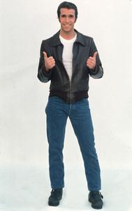 """Happy Days""Henry Winkler1976 © 1978 Bruce McBroom - Image 5417_0126"