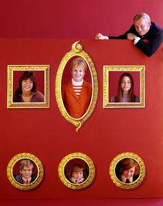 """The Partridge Family""Susan Dey, Danny Bonaduce, David Cassidy,Shirley Jones & Dave Madden C. 1972**I.V. - Image 5418_0053"