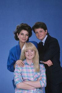 """Family Ties""Justine Bateman, Tina Yothers, Michael J. Fox1985 © 1985 Gene Trindl - Image 5419_0051"