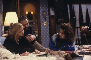 """Family Ties""Michael Gross, Meredith Baxter, Justine Bateman1989© 1989 Gene Trindl - Image 5419_0054"