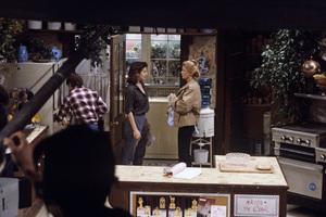 """Family Ties""Michael J. Fox, Justine Bateman, Meredith Baxter1984© 1984 Gene Trindl - Image 5419_0132"