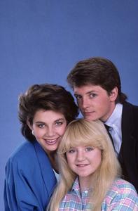 """Family Ties""Justine Bateman, Michael J. Fox, Tina Yothers1985© 1985 Gene Trindl - Image 5419_0133"