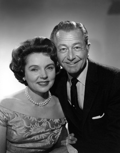 """Father Knows Best""Robert Young, Jane Wyattcirca 1960Photo by Gabi Rona - Image 5420_0009"