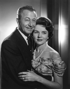 """""""Father Knows Best""""Robert Young, Jane Wyattcirca 1960Photo by Gabi Rona - Image 5420_0013"""