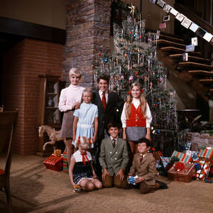 """The Brady Bunch""Florence Henderson, Eve Plumb, Barry Williams, Maureen McCormick, Susan Olsen, Christopher Knight, Mike Lookinlandcirca 1969** B.D.M. - Image 5421_0096"