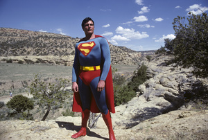 """""""Superman"""" Christopher Reeve 1978 © 1978 Gunther - Image 5422_0121"""