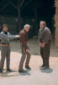 """Bonanza""Michael Landon,Lorne Greene,Dan Blocker1959 NBCPhoto By Gerald Smith - Image 5424_0035"