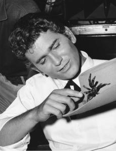"""Bonanza""Michael Landon with Tarantula Docts circa 1960**I.V. - Image 5424_47"