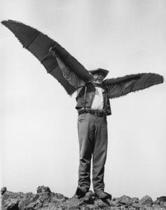 """Bonanza""Dan Blocker in ""Ponderosa Birdman"" 1965**I.V. - Image 5424_49"