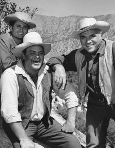 """Bonanza""Michael Landon, Dan Blocker, Lorne Greene circa 1961**I.V. - Image 5424_65"