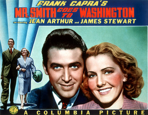 """Mr.Smith Goes To Washington""Jimmy Stewart,Jean Arthur1939 Columbia**M.H. / Lobby Card - Image 5428_0009"