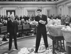 """""""Mr. Smith Goes to Washington""""Claude Rains, James Stewart1939 Columbia**I.V. - Image 5428_0019"""