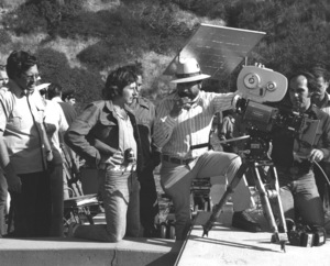 """Chinatown""Roman Polanski and crew1975 Paramount**I.V. - Image 5435_0137"
