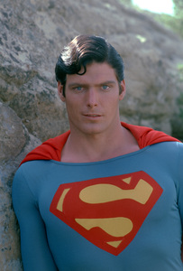 """""""Superman"""" Christopher Reeve 1978 © 1978 Gunther - Image 5442_0116"""