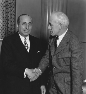 Louis B. Mayer and Lewis Stonecirca 1936 - Image 5451_0063