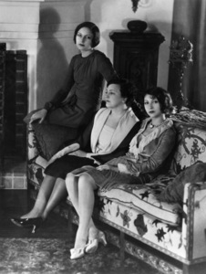 Mrs. Louis B. Mayer (Margaret Shenberg), Edith (Edie) Mayer and Irene Mayer Selznickcirca 1920s - Image 5451_0067