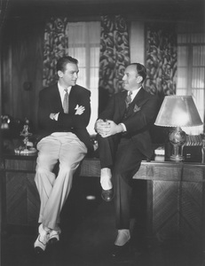 Warner HistoryDouglas Fairbanks Jr., Jack Warnercirca 1928Photo by Irving Lippman - Image 5460_0051