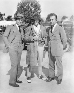 Warner HistoryJack Warner, John Barrymore, Harry Warnercirca 1924 - Image 5460_0131
