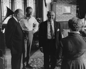 """My Fair Lady""Jack Warner, Rex Harrison, Wilfrid Hyde-White, Mona Washbourne1964 Warner Bros. - Image 5460_0211"