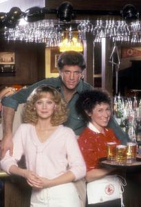 """Cheers""Sheeley Long, Ted Danson, Rhea Perlman1983 © 1983 Mario Casilli - Image 5467_0045"