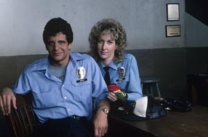 """Hill Street Blues""Ed Marinaro, Betty Thomas1983 © 1983 Gene Trindl - Image 5470_0015"