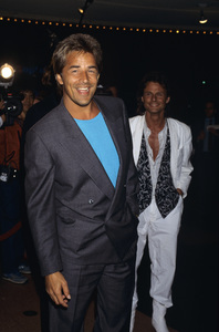 Don Johnson and Michael De Bargecirca 1980s© 1980 Gary Lewis - Image 5489_0005