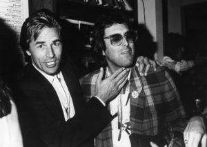 Don Johnson and Stephen Bishopcirca 1980s© 1980 Gary Lewis - Image 5489_0010