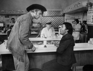 """Midnight Cowboy""Jon Voight and Dustin Hoffman1969 UA - Image 5492_0013"