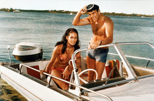 """Thunderball,"" Martine Beswick, Sean Connery1965 UA / MPTV - Image 5494_0002"