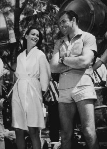 """""""Thunderball,""""Claudine Auger, Sean Connery1965 / UA / MPTV - Image 5494_0005"""