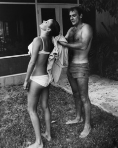 """""""Thunderball""""Claudine Auger, Sean Connery1965 UA - Image 5494_0006"""