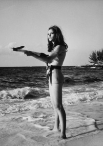 """Thunderball,"" Claudine Auger1965 United Artists / MPTV - Image 5494_0022"