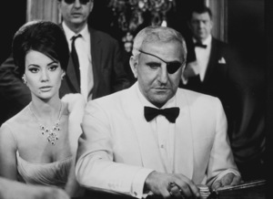 """Thunderball,""Claudine Auger, Adolfo Celi1965 United Artists / MPTV - Image 5494_0023"