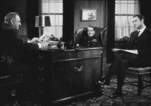 """Thunderball,""Bernard Lee, Edward Underdown, Sean Connery1965 United Artists / MPTV - Image 5494_0026"