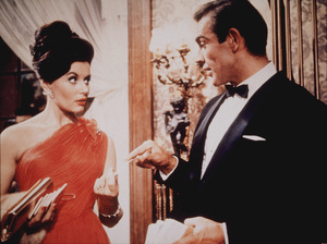 """""""Thunderball,""""Claudine Auger, Sean Connery1965 UA / MPTV - Image 5494_0049"""