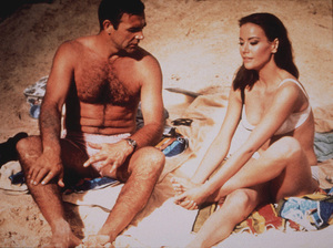 """Thunderball,"" Sean Connery, Claudine Auger1965  UA / MPTV - Image 5494_0052"