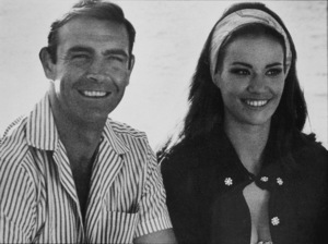 """Thunderball,""Sean Connery, Claudine Auger1965 UA / MPTV - Image 5494_0057"