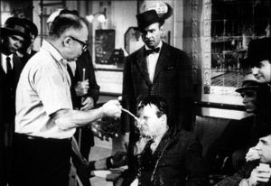 """Irma La Douce""Dir. Billy Wilder, Jack Lemmonon the set / 1963 UAMPTV - Image 5497_0004"