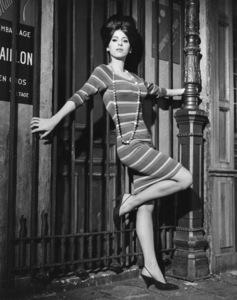 """Irma la Douce""Sheryl Deauville1963 United Artists © 1978 Leo Fuchs** Sheryl Deauville Collection - Image 5497_0073"
