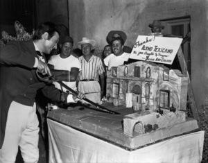 """The Alamo""Laurence Harvey1960 United Artists ** I.V. - Image 5499_0050"
