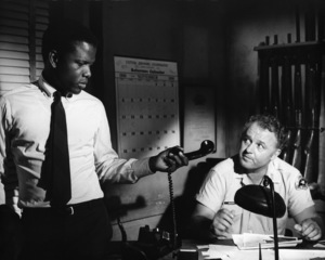 """In the Heat of the Night""Sidney Poitier, Rod Steiger1967 United Artists - Image 5502_0002"